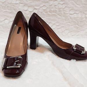 Shoes - Tahari burgundy heels